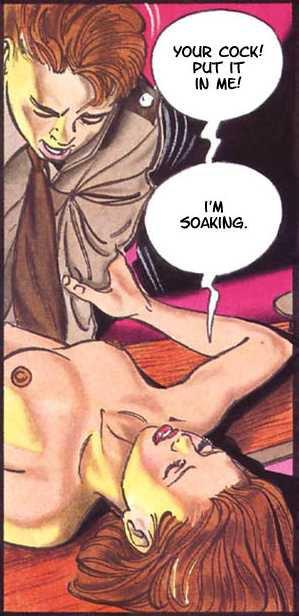Подборка фоток из порно комикса